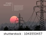 Transmission Towers Landscape...