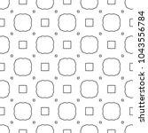geometric ornamental vector... | Shutterstock .eps vector #1043556784