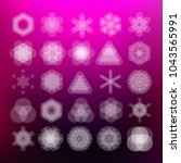 vector computer generated... | Shutterstock .eps vector #1043565991