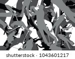 vector background of seamless... | Shutterstock .eps vector #1043601217