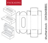 package for bakery.vector... | Shutterstock .eps vector #1043648881