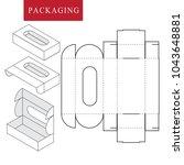 package for bakery.vector... | Shutterstock .eps vector #1043648881