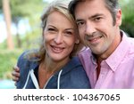 portrait of middle aged couple...   Shutterstock . vector #104367065