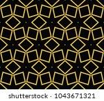 stylish geometric background.... | Shutterstock .eps vector #1043671321