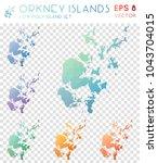 orkney islands geometric... | Shutterstock .eps vector #1043704015