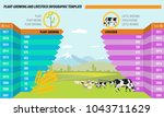 farming and agriculture concept ... | Shutterstock .eps vector #1043711629