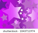 vector background with stars. | Shutterstock .eps vector #1043711974