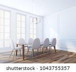 modern boardroom interior with...   Shutterstock . vector #1043755357