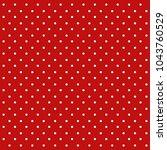 seamless polka dot background | Shutterstock .eps vector #1043760529