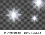 abstract image of lighting... | Shutterstock .eps vector #1043766685