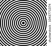 concentric cirlces  concentric... | Shutterstock .eps vector #1043771374