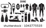 diving  scuba  dive  water  sea ...   Shutterstock .eps vector #1043775535