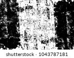 black and white abstract... | Shutterstock . vector #1043787181