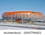 saransk  russia   march 10 ... | Shutterstock . vector #1043796601