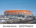 saransk  russia   march 10 ... | Shutterstock . vector #1043796604