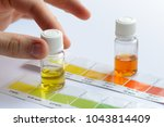 water quality testing. man... | Shutterstock . vector #1043814409