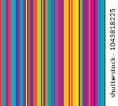 vector pattern with colorful...   Shutterstock .eps vector #1043818225