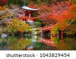beautiful japanese garden with...   Shutterstock . vector #1043829454