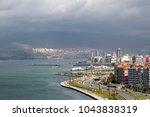izmir city in aegean coast of...   Shutterstock . vector #1043838319