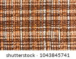 brown fabric background ... | Shutterstock . vector #1043845741