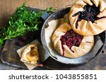 Summer Galette With Berries ...