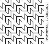 design seamless monochrome... | Shutterstock .eps vector #1043886877