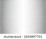 abstract halftone wave dotted... | Shutterstock .eps vector #1043897701