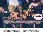 asian group of friends having...   Shutterstock . vector #1043904859