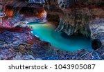 subway  zion national park  utah | Shutterstock . vector #1043905087