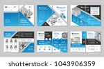 brochure creative design.... | Shutterstock .eps vector #1043906359