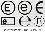 vector illustration estimated... | Shutterstock .eps vector #1043914204