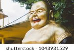 Small photo of Hotei or the Laughing Buddha is the God of Wealth, Mirth, and Sufficiency