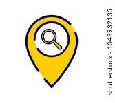 location icon with research...