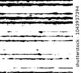 grunge halftone black and white ... | Shutterstock .eps vector #1043937394