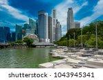 singapore   august 23 2017  ... | Shutterstock . vector #1043945341