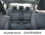 interior of premium sedan car....   Shutterstock . vector #1043946844