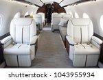 interiors inside a private... | Shutterstock . vector #1043955934