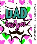 editable image greeting with... | Shutterstock .eps vector #1043978911