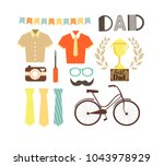 editable image greeting with... | Shutterstock .eps vector #1043978929