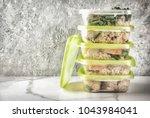 food control  diet concept ... | Shutterstock . vector #1043984041