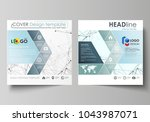 business templates for square... | Shutterstock .eps vector #1043987071