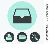 box vector icon | Shutterstock .eps vector #1044014521