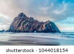 Keyhole Rock Of Pfeiffer Beach...