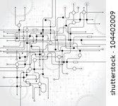abstract vector background.... | Shutterstock .eps vector #104402009