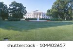 Front Lawn Of The White House ...