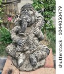 Small photo of Ganesha god sculpture, god for happy