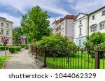 ladek zdroj  lower silesia  ... | Shutterstock . vector #1044062329