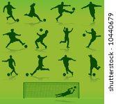 soccer vector | Shutterstock .eps vector #10440679