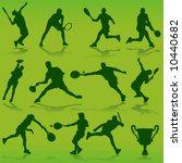 tennis vector | Shutterstock .eps vector #10440682