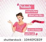 portrait of beautiful woman in... | Shutterstock . vector #1044092839